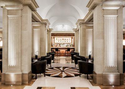 Vestíbulo del Hotel Majestic