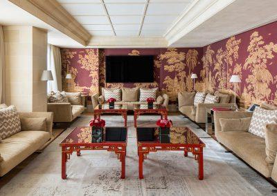 Suite 9ª planta del Hotel Majestic