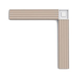Esquinero para moldura Orac Decor P5020B - Maproba