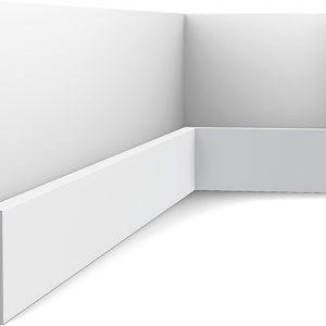 Zócalo Orac Decor SX163 con Rail Pintado - Maproba