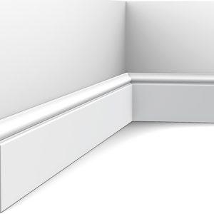 Zócalo Orac Decor SX173 con Rail Pintado - Maproba