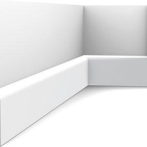 Zócalo Orac Decor SX183 con Rail Pintado - Maproba