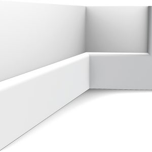 Zócalo Orac Decor SX118 con Rail Pintado - Maproba