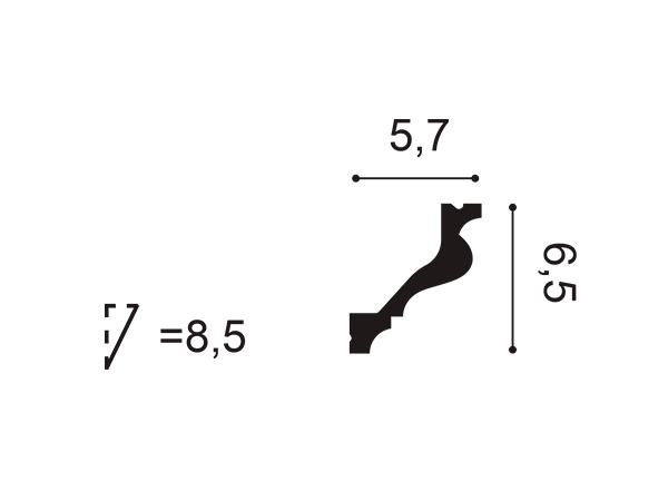 Cornisa exterior Orac Decor C800 - Maproba