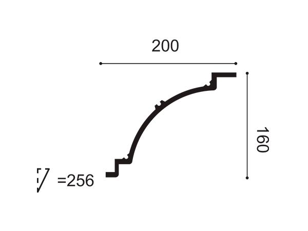 Cornisa exterior Orac Decor C820 - Maproba