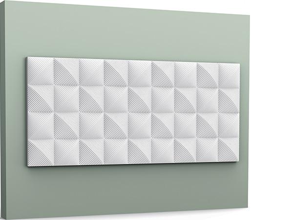 Moldura panel decorativo 3D Orac Decor® W113 - Maproba
